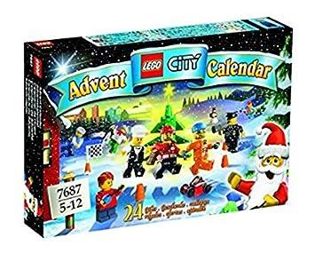 Calendrier Lego City.Lego 7687 Jeu De Construction City Supplement Le Calendrier De L Avent