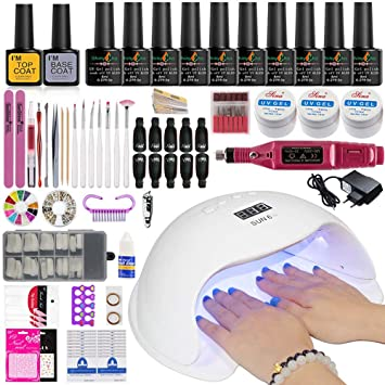 Amazon.com  Manicure Set Nail Kit Electric Manicure Handle