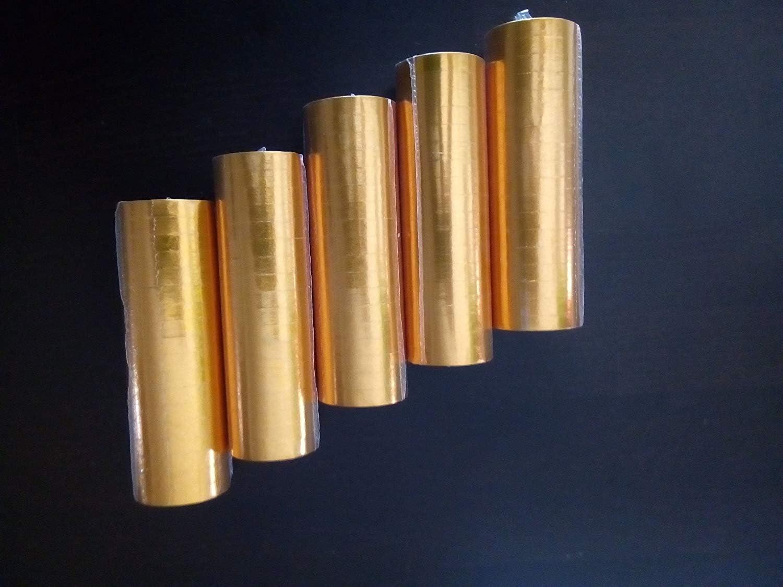 12 Rollen metallic schwarz gold silber Luftschlangen a/´4 Meter f/ür Hochzeit Geburtstag Fasching Karneval Raum-Tisch-Konfetti-Deko vom Sachsen Versand