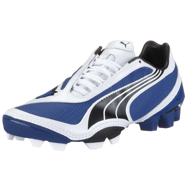 outlet store 155e5 ce048 Amazon.com   PUMA V1.08 FG Boys Soccer Boots Cleats-Blue-5   Shoes