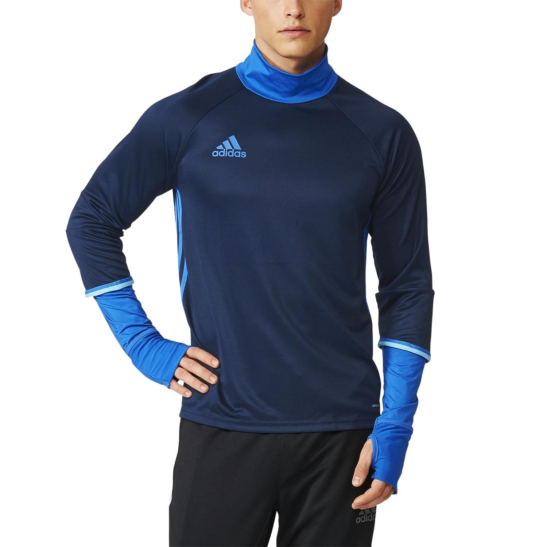 adidas Condivo 16 Poly T Shirt Navy Blue Mens Sports