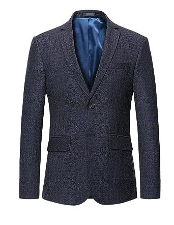 HX fashion Chaqueta De Traje De Los Hombres Blazer Tamaños ...