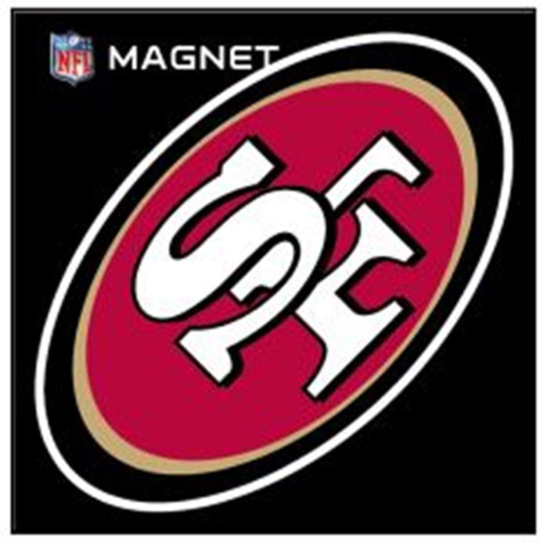 Stockdale San Francisco 49ers SD 6 Logo Magnet Die Cut Auto Home Heavy Duty Football