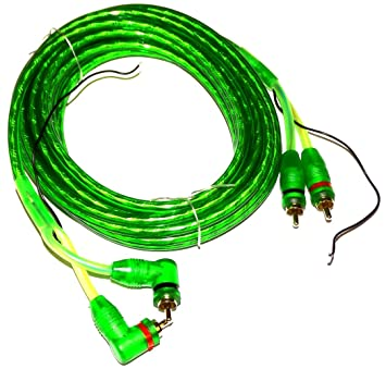 AERZETIX: Cable RCA 5 metros para amplificador de coche C4603: Amazon.es: Electrónica