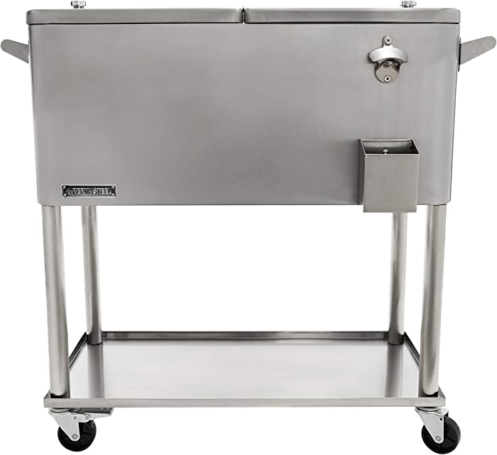 The Best Trinity Stainless Steel Beverage Cooler With Shelf