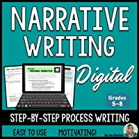 Narrative Writing – Personal Narrative DIGITAL for 1:1 Classroom