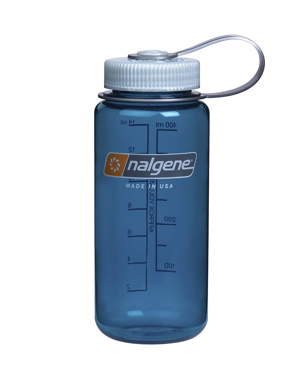 Nalgene Tritan Wide Mouth BPA-Free Water Bottle 1PINTWM