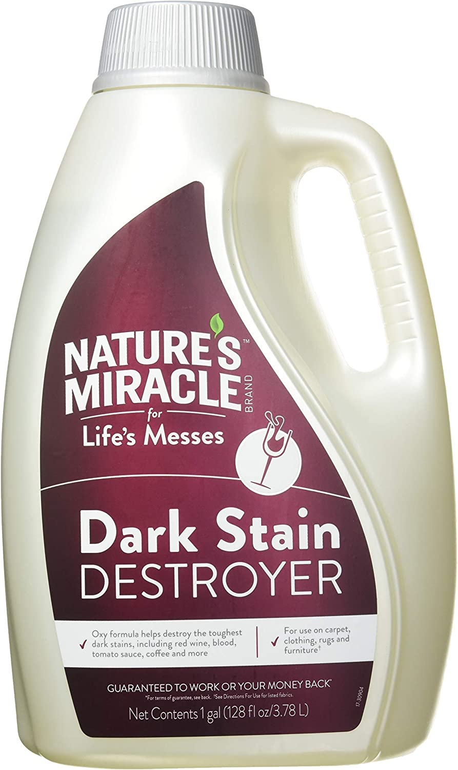 Nature's Miracle Dark Stain Destroyer, Designed for Life's Messes, 128 Fluid Ounce