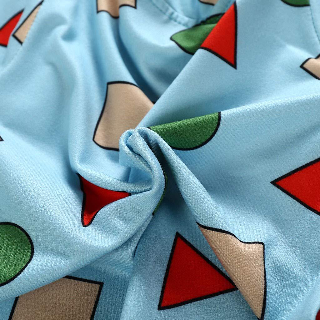 FRAUIT Pigiama Bambina 3 Anni Cotone Pigiami Natalizi Inverno Autunno Vestaglia Bambine Caldo Cotone Magliette Neonata Manica Lunga Pantaloni Bambino Invernali