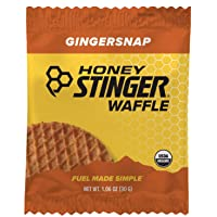 Deals on 16-Ct Honey Stinger Organic Waffle Gingersnap Sports Nutrition 1.06oz