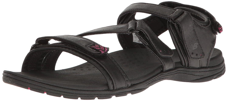 Sandalo Maya da donna, nero   rosa, 8 D US