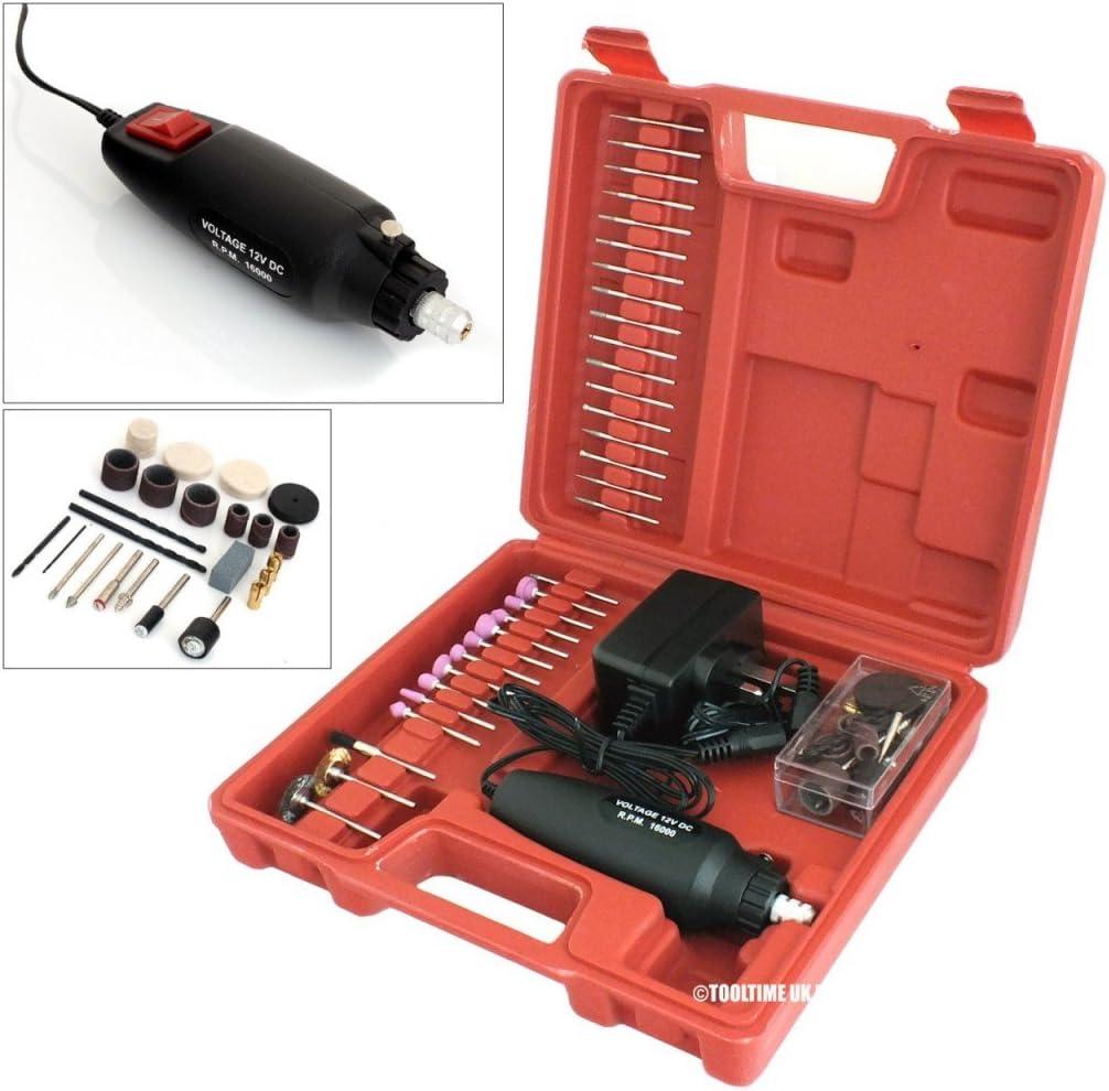 -FITS ALL TYPES OF TOOL 400PC VOCHE MINI ROTARY POWER DRILL HOBBY ACCESSORY KIT