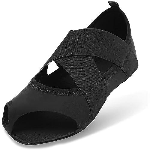 Joinfree Damen Bellarina Schuhe Half Toe Grip Non Slip Fur Ballett