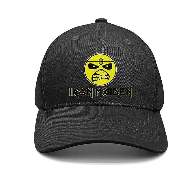 Shihangya Man Heavy-Metal-Band-Iron-Maiden- Snapback hat Trucker Hats 1f5e4bcff2b