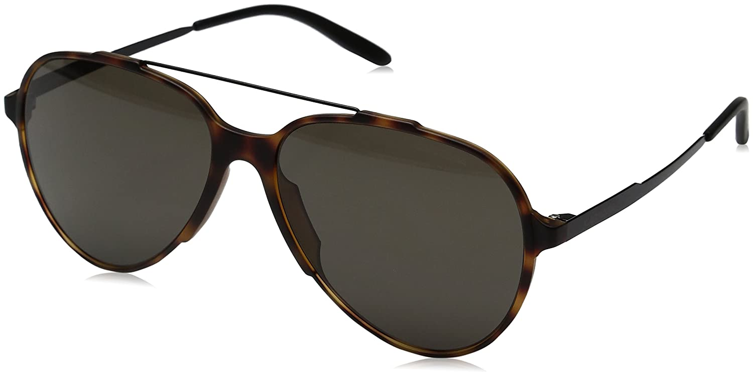 Carrera Mens Carrera 118//S Light Havana//Blue Lens Carrera Sunglasses CA118S Safilo Group