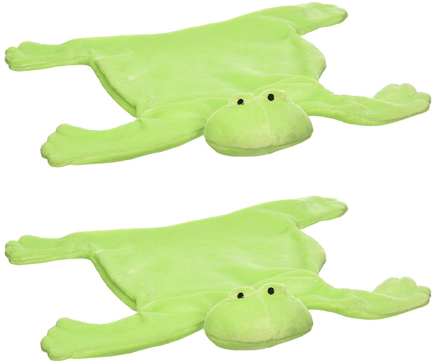 North American Bear Baby Cozy, Flatofrog Security Blanket - 2 Pack North American Bear Company 2919F