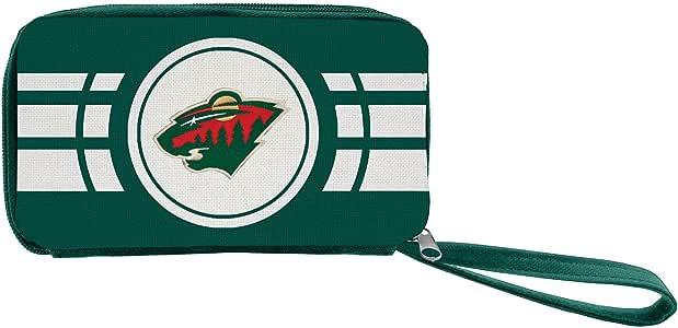 Littlearth NHL womens Nhl Ripple Zip Wallet