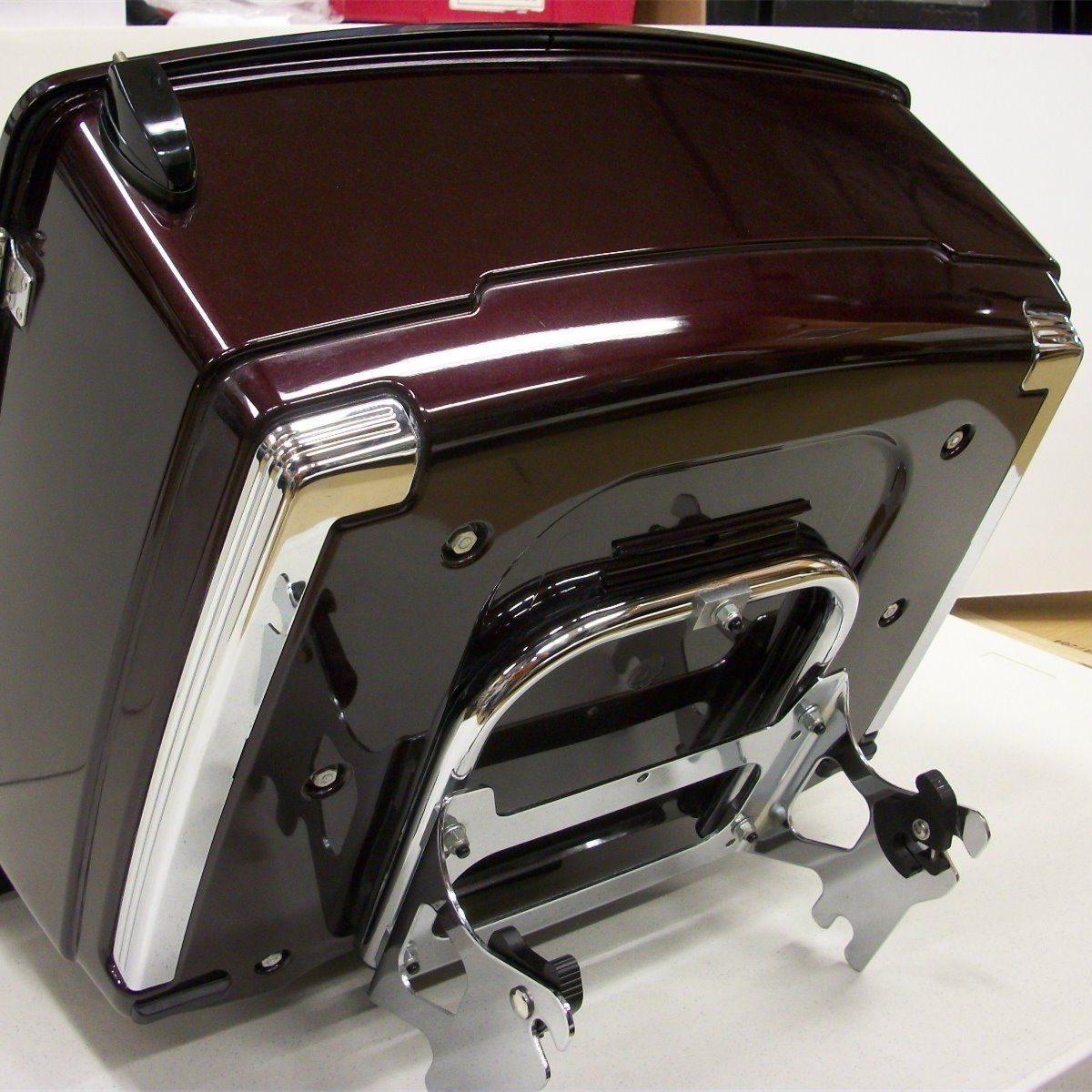 97-08 Detachable Two-up Tour Pack Mounting Luggage Rack W//Docking Hardware Kit