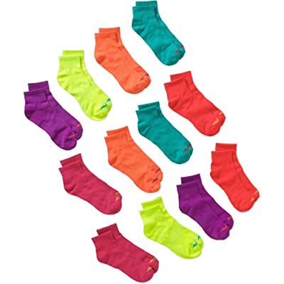 Avia Ladies Comfort Stretch Performance Ankle Socks - Arch Support - 12 Pack (ASSORTED) at Women's Clothing store