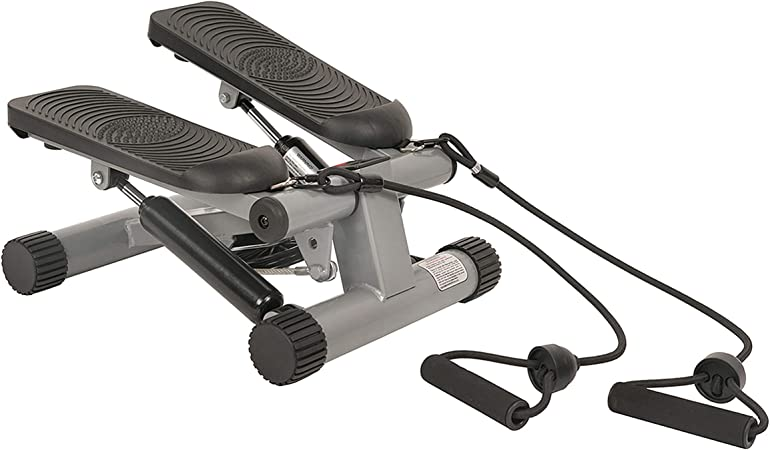 Stepper Up Down Support/é Jusqu/à 100KG MUPAI Fitness Stepper avec L/écran LCD et Extenseurs