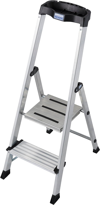 Krause – Escalera safepro, 1 pieza, 2 niveles, 127204: Amazon.es: Bricolaje y herramientas