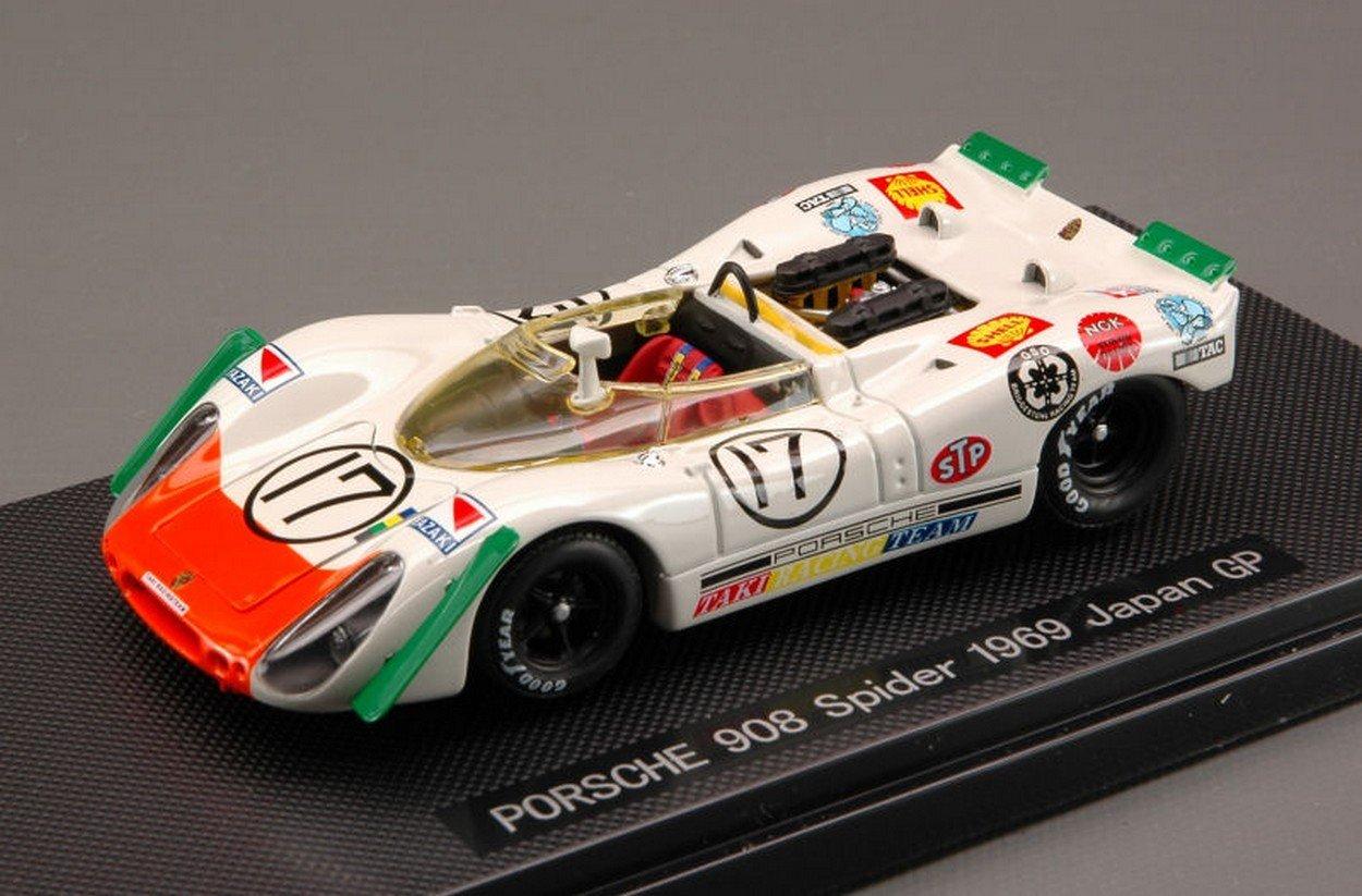 Ebbro EB44711 Porsche 908 N.17 Japan GP 1969 1 43 MODELLINO Die Cast Model