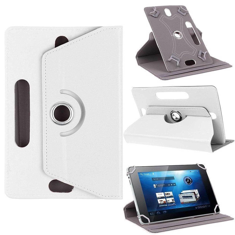 Universel en similicuir PU de haute qualité UNI 360Housse étui coque compatible avec toutes les tablettes Android avec support + stylet 9 inch rose phone item RD700300