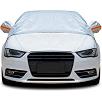 Tofern Half Size Waterproof Car Cover Top Winter Summer Car Cover - Hatchback - L