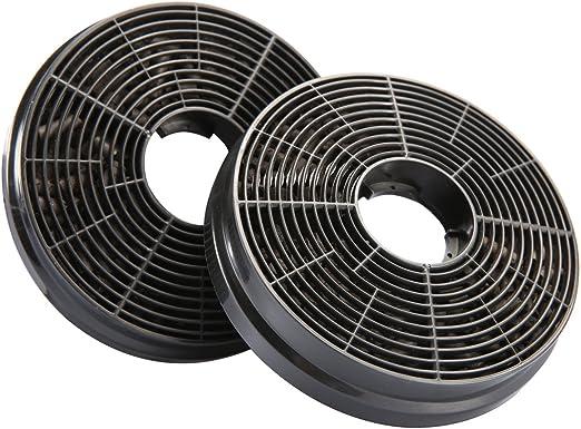 CIARRA CBCF002X2 Filtro de Carbón de Campana extractora decorativa ...