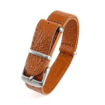 a70026b9bcc Marathon WW005009DT Leather NATO Watch Band (20 mm