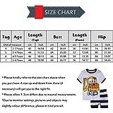 Kingha Little Boys Pajamas Short Sets 100% Cotton