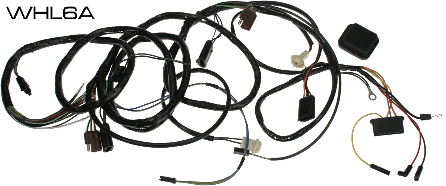 1969 mustang wiring harness amazon com mustang headlight wiring harness from firewall 1969  mustang headlight wiring harness