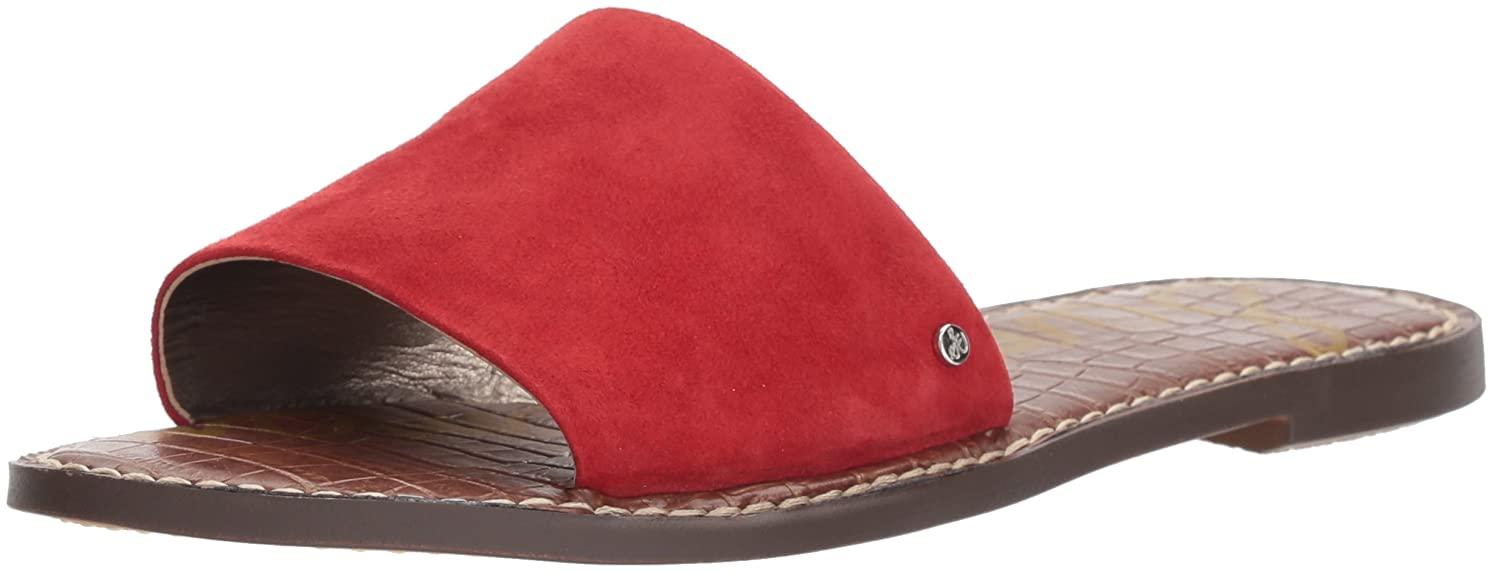 Sam Edelman Women's Gio Slide Sandal B07679T8SY 8 B(M) US|Red