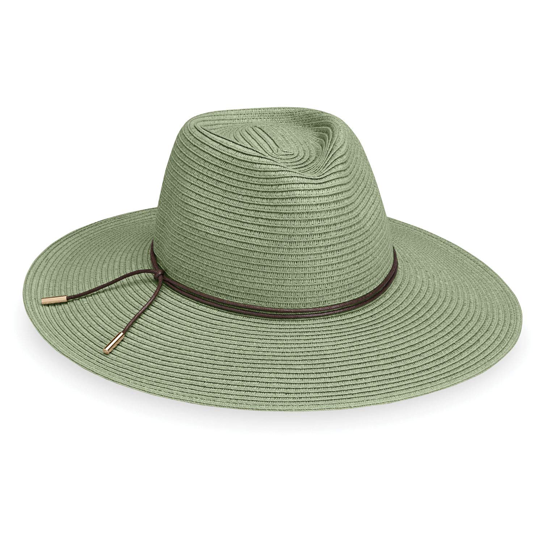Wallaroo Hat Company Women's Montecito Sun Hat - Sage - UPF 50+