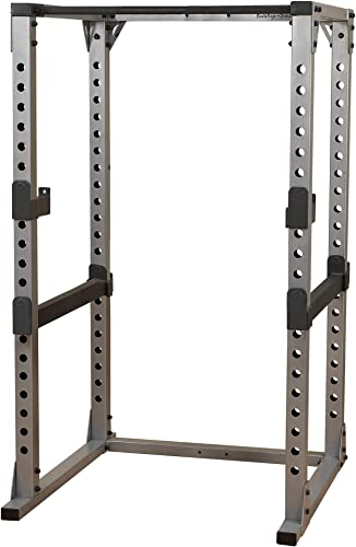 Body-Solid GPR378 Adjustable Pro Power Rack for Squats, Deadlift, and Weightlifting Workout