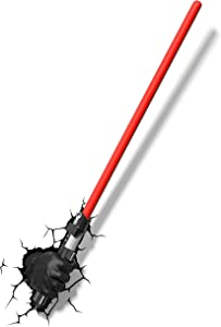 3DLightFX Star Wars Darth Vader Hand with Lightsaber 3D Deco Light