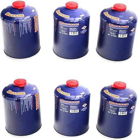 Envio 24h 6 X Butsir B-500 Cartucho de Gas 450 gr – bombona ...