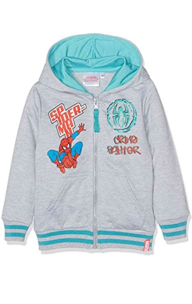 Spiderman - Chaqueta - para niño gris Spiderman 1282 Grey ...