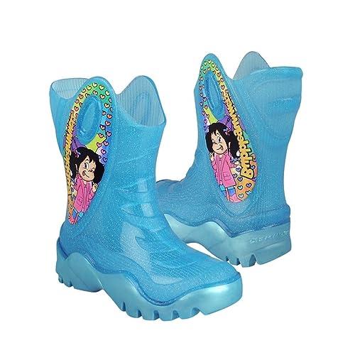 BUBBLE GUMMERS Botas para Lluvia Bubblegummers para niña sintético Azul  explosión 16 f644bf3a4742e