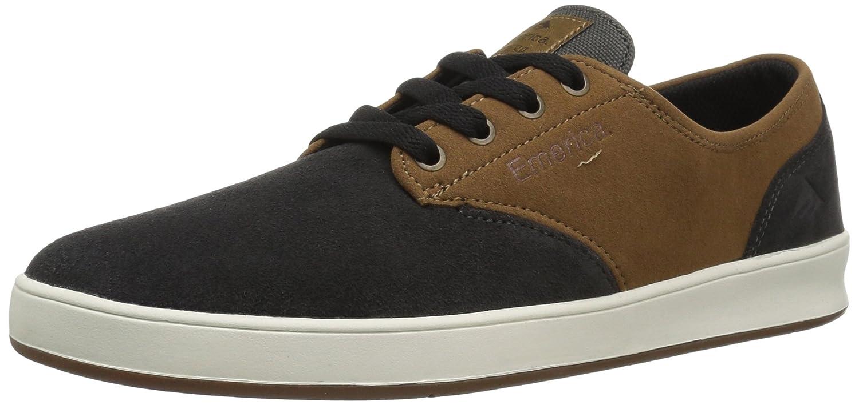 Emerica Men's The Romero Laced Skate Shoe 6 D(M) US|Grey/Tan