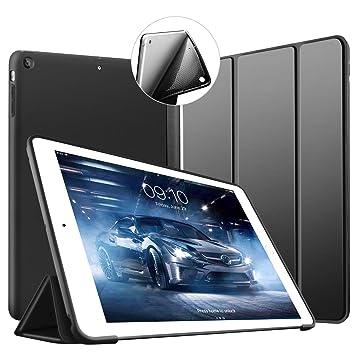 VAGHVEO Funda iPad Air, Carcasa con Magnetic Auto-Sueño/Estela Función Ultra Delgada y Ligéra Protectora Suave Silicona TPU Smart Cover Case para ...