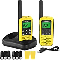 $45 » Walkie Talkies - COTRE Two Way Radios, Up to 32 Miles Long Range USB Rechargeable Walkie…
