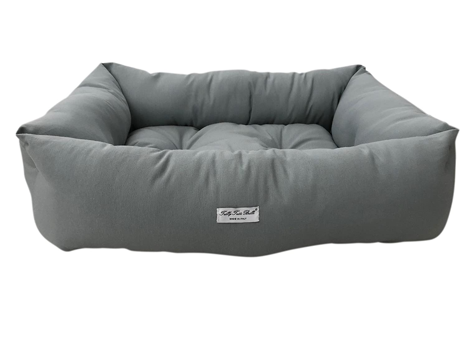 Trilly tutti Brilli Akane Dog's Bed, Dark Grey, Number 60