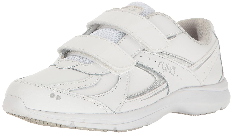 Ryka Women's Sandria Slip Resistant Sneaker B01MUBTI7N 9 B(M) US|White