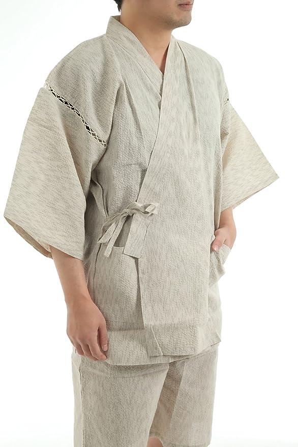 Edoten Original fujin Raijin Hokusai Nami cotton100% Jinbei ...