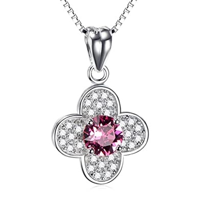 CS-DB Silver Necklaces Pendants Crystal Cross Top Stylish Jewelry