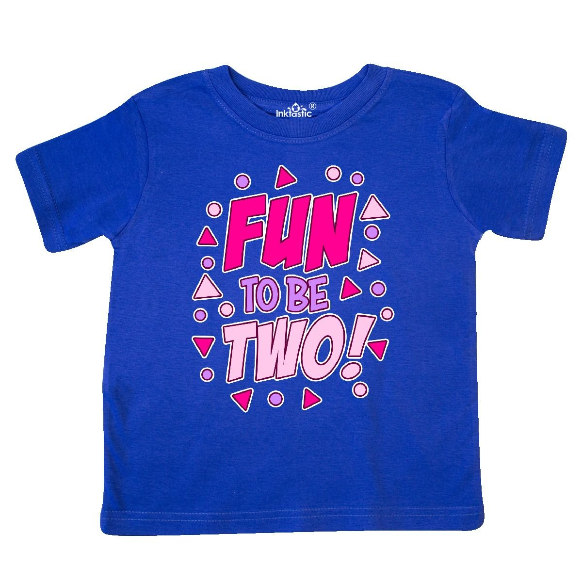 inktastic Fun to Be 2 Birthday Toddler T-Shirt