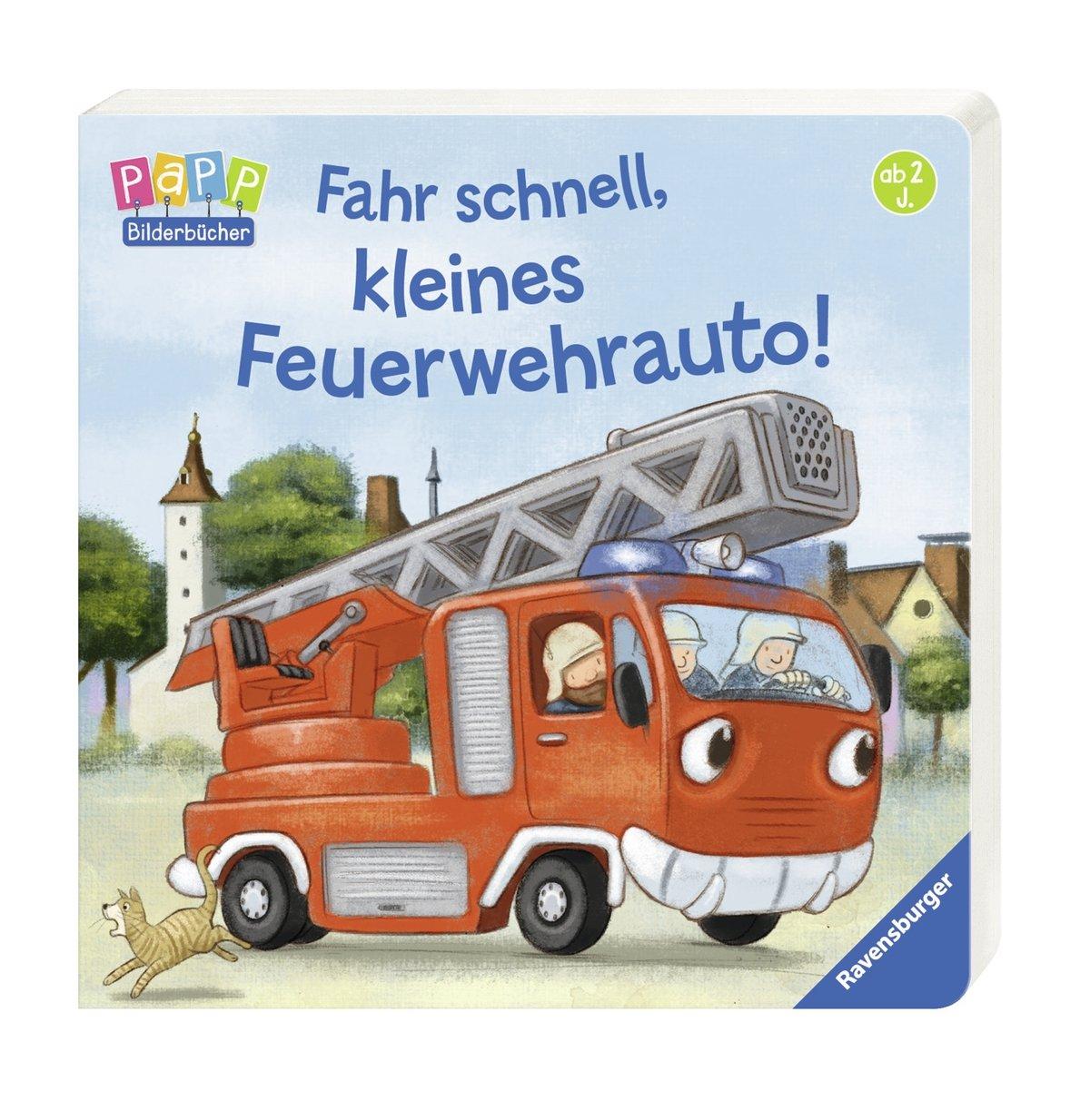 Fahr Schnell Kleines Feuerwehrauto Amazon De Bernd Penners