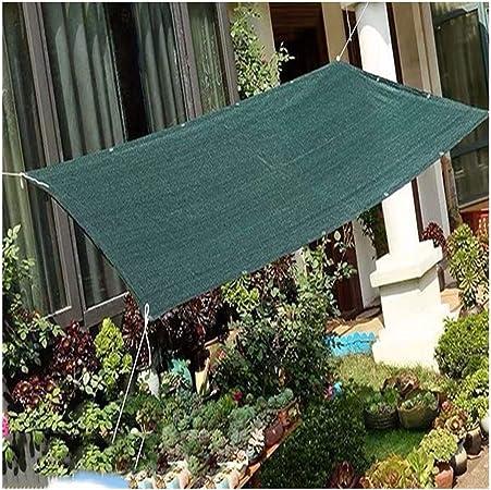 MAHFEI Malla Sombra De Red Anti-Ultravioleta Protector Solar Respirable Reducir La Temperatura Cifrado Agujero De Metal Jardín Plan De Proteccion 21 Tallas (Color : Green, Size : 2x8m): Amazon.es: Hogar