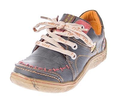 349225dfb3a TMA Eyes 1646 Chaussures basses en cuir pour femme
